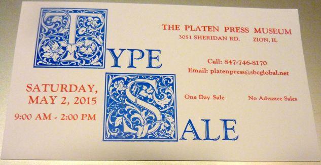 2015 Type Sale